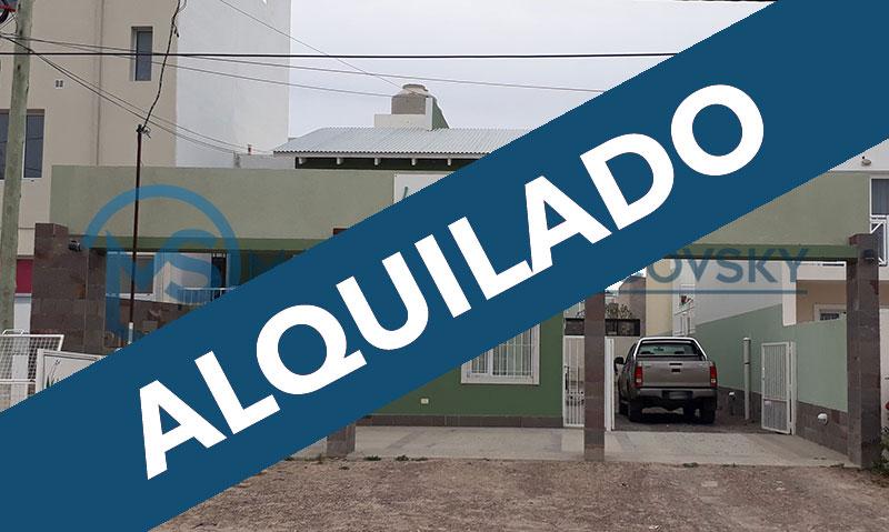 – ALQUILADO – Duplex en Alquiler Amoblado con Servicios, Barrio Sur, Puerto Madryn