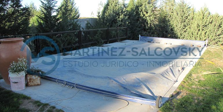pileta climatizada Casa Venta Quintas del Mirador