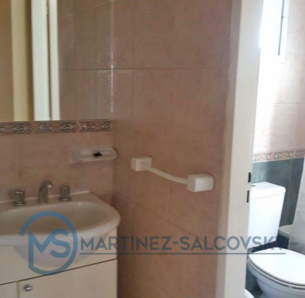 Ante-baño Venta departamento amoblado 1 dormitorio Puerto Madryn