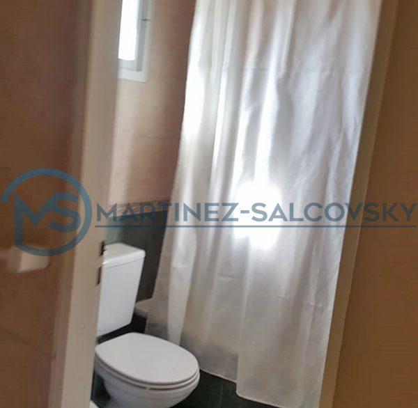 Baño Venta departamento amoblado 1 dormitorio Puerto Madryn