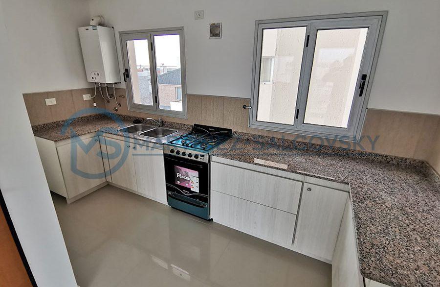 cocina Venta departamento a estrenar 2 dormitorio Puerto Madryn