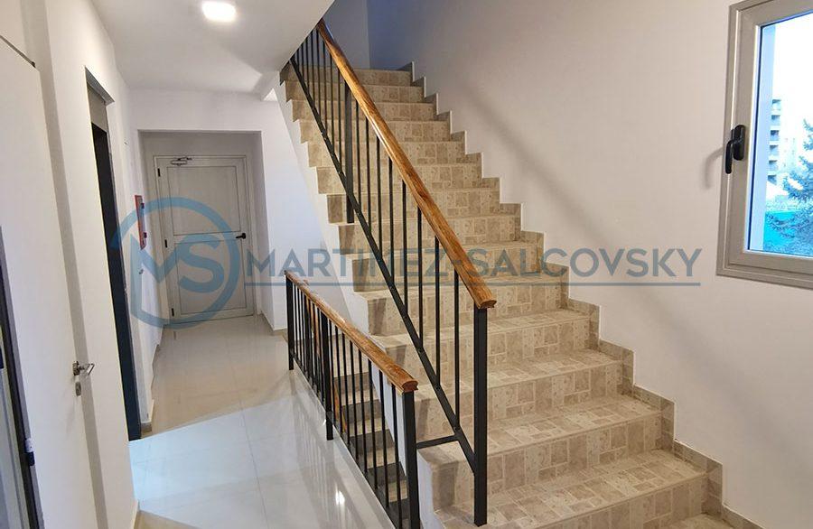 escaleras edificio Venta departamento a estrenar 2 dormitorio Puerto Madryn