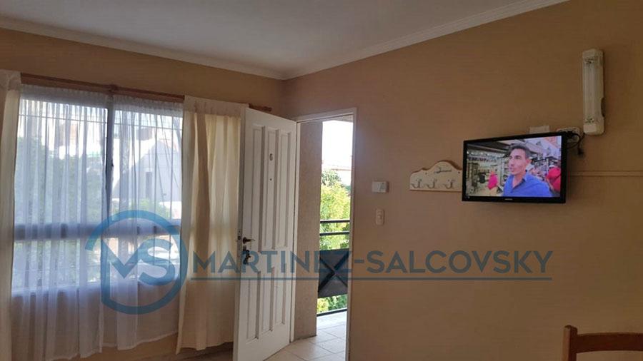 Living Venta departamento amoblado 1 dormitorio Puerto Madryn